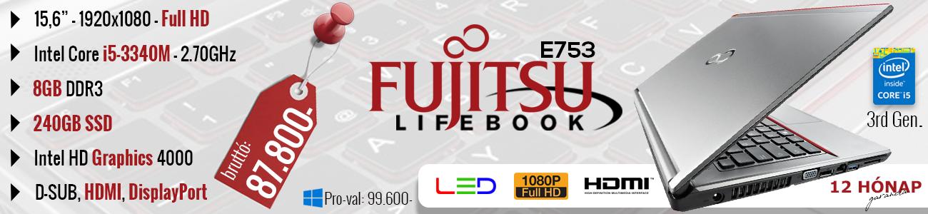 FTS LifeBook E753