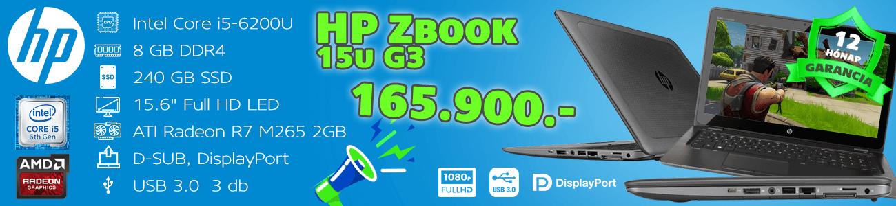 HP ZBook - kisker