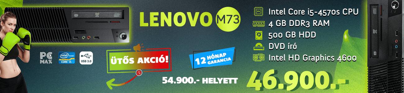 Lenovo M73e kk akció