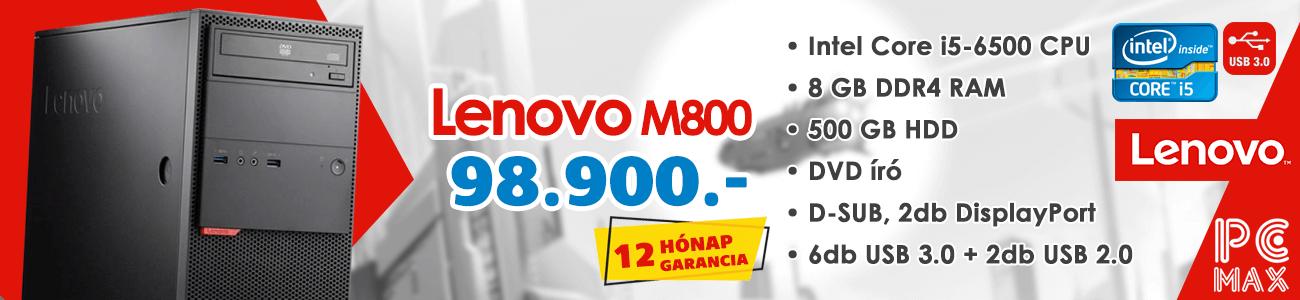 Lenovo M800 MT kisker