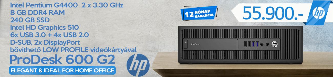 HP ProDesk 600 G2 kisker