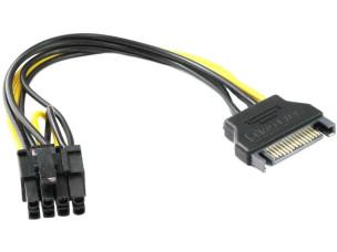 SATA-PCIe 8 PIN átalakító (új)