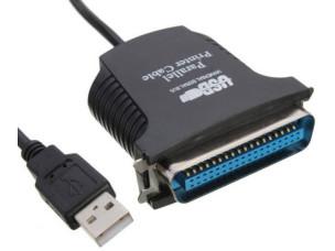 USB-LPT kábel 90 cm (új)