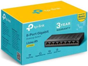 TL-SG1008D  8 port Gbit switch (új)
