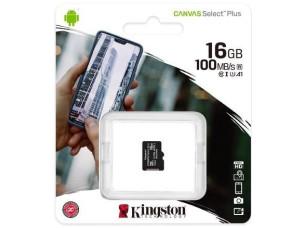 MicroSD kártya 16 GB Kingston SDCS2 (új)