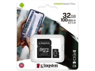 MicroSD kártya 32 GB Kingston SDCS2 (új)