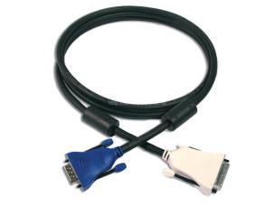DVI-A - VGA kábel 1.5 m